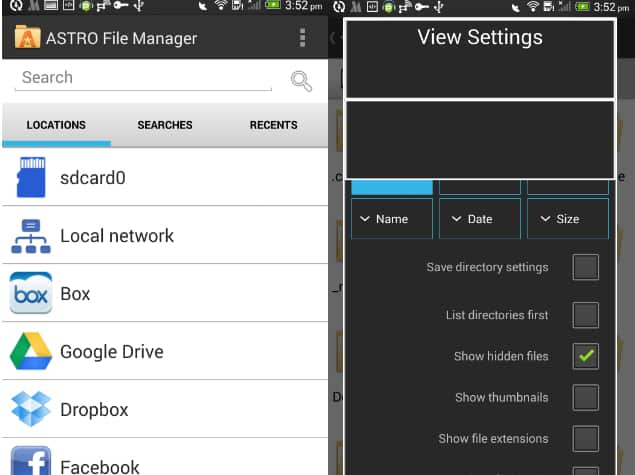 Android Astro File Manager