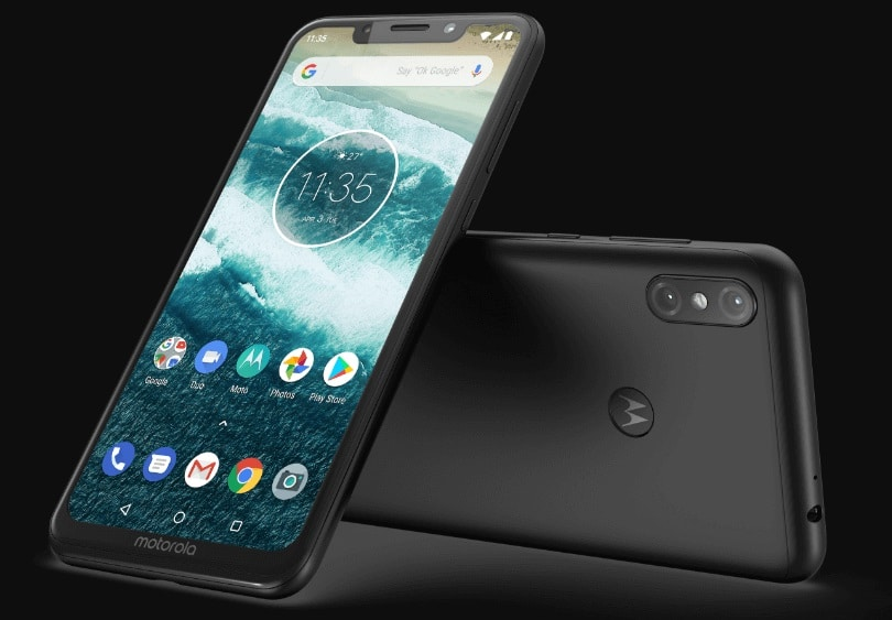Дизайн Motorola One Power
