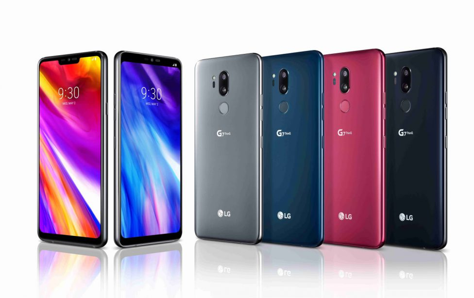 Дизайн LG G7 Plus ThinQ