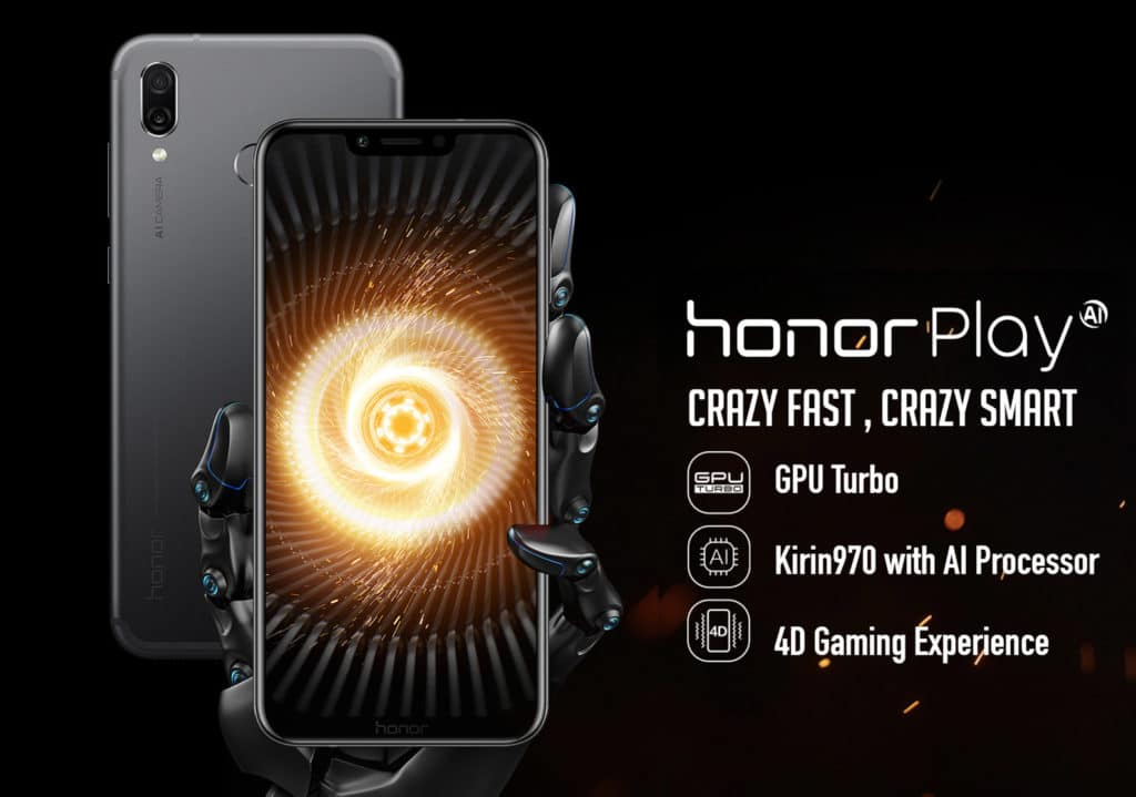 Honor Play processor