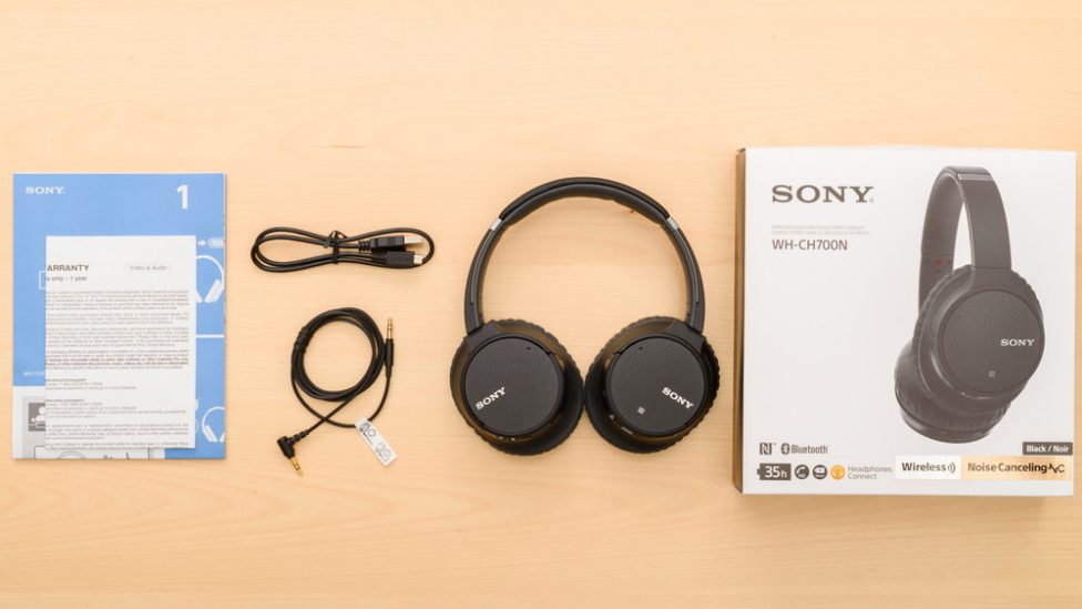 Spécifications Sony WH-CH700N